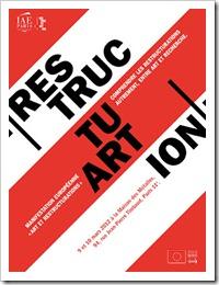 Affiche RestructuARTion